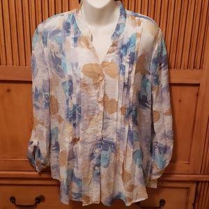 Beautiful multicolored blouse Medium